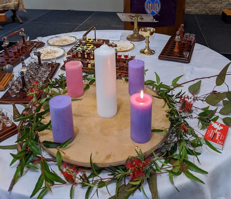 2019: Advent wreath